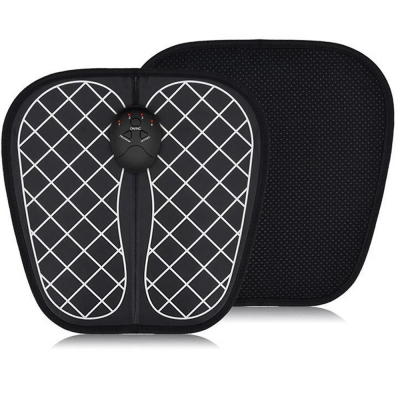 Foot Circulation Massager Electric EMS Foot Massager Pad Feet Muscle Stimulator Foot Massage Mat Improve Blood Circulation Relieve Ache Pain Health Care