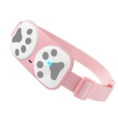 Warm Palace Belt Heating Warm Belly Massager Vibrating Massage Waist Protection Relieve Menstrual Pain 4 Gear Washable Wireless Warm Uterus Belt