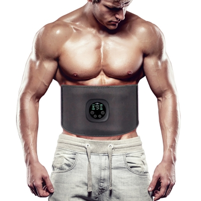 Smart Fitness Slimming Belt EMS Abdominal Apparatus Muscle Massage Shaping Belt Body Trainer Home Gym Fitness Equipment Unisex